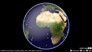 The Whole Globe : 3D Earth viewer for Silverlight®