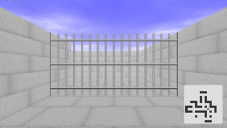 The Barred Labyrinth : First person view 3D maze exploration game for Silverlight®