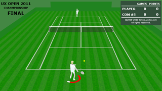 3D-UX Tennis : 3D tennis game for Silverlight®
