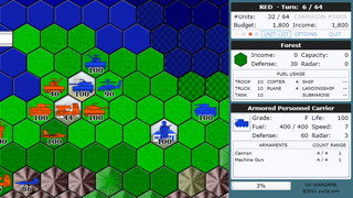 UX-Wargame : Turn-based strategy wargame for Silverlight®